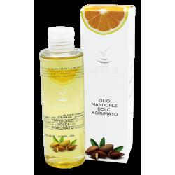 Sweet almond oil citrus fragrance